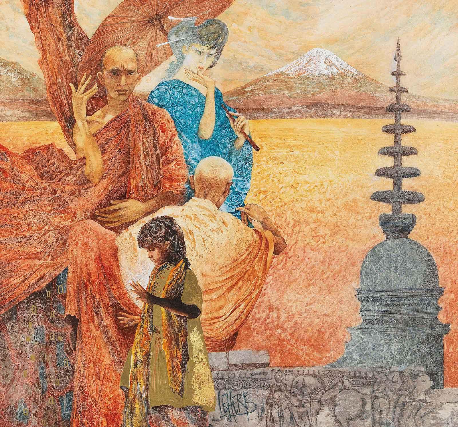 Helmut Leherb: Asien | ARGUS Art Asset Austria, Wien