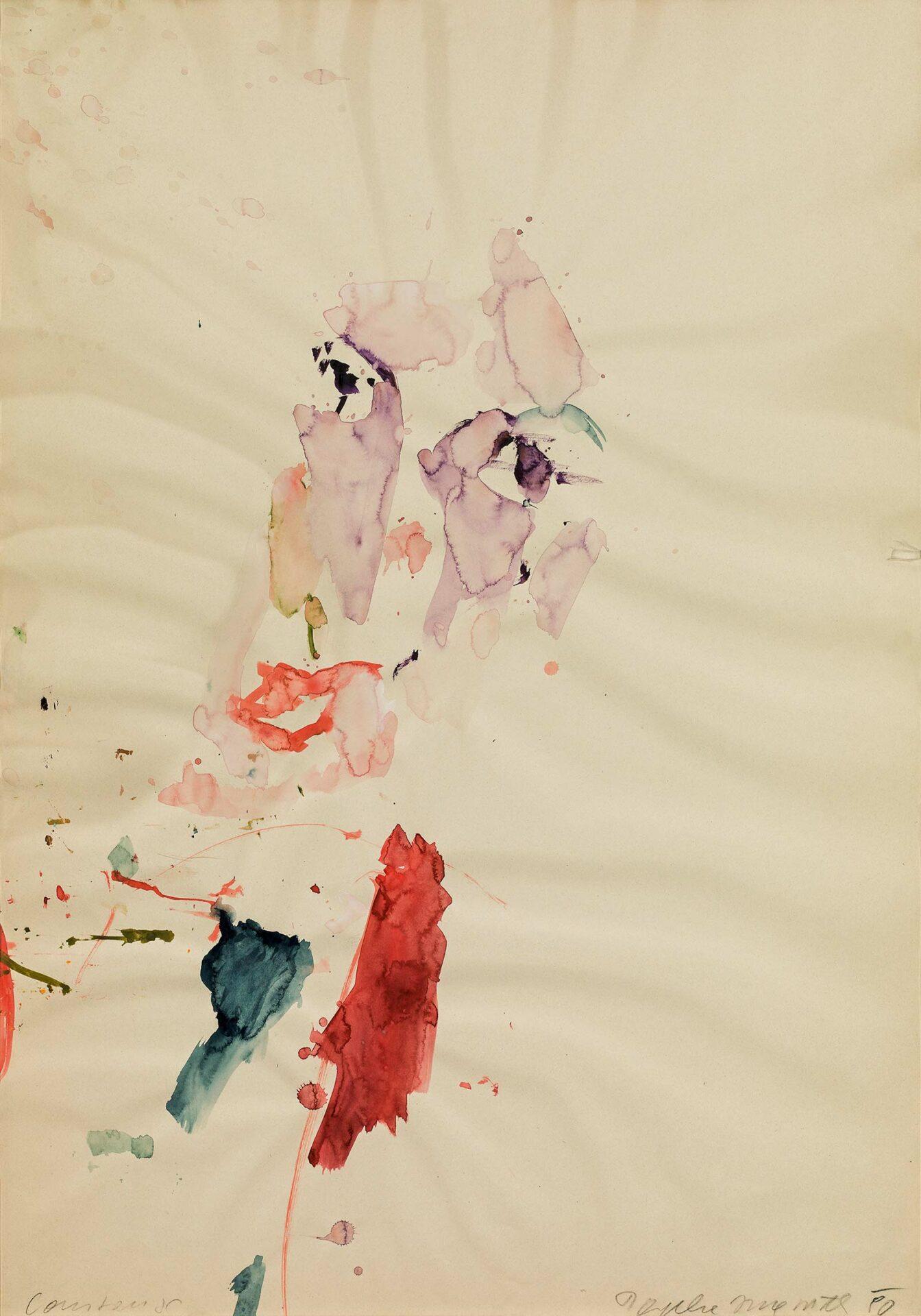 Martha Jungwirth: ohne Titel | ARGUS Art Asset Austria, Wien