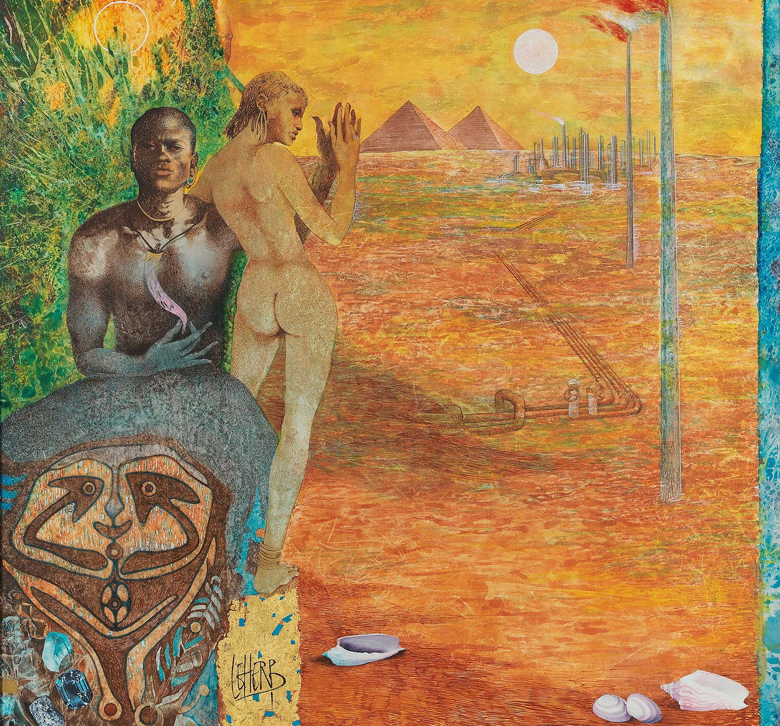 Helmut Leherb: Afrika | ARGUS Art Asset Austria, Wien